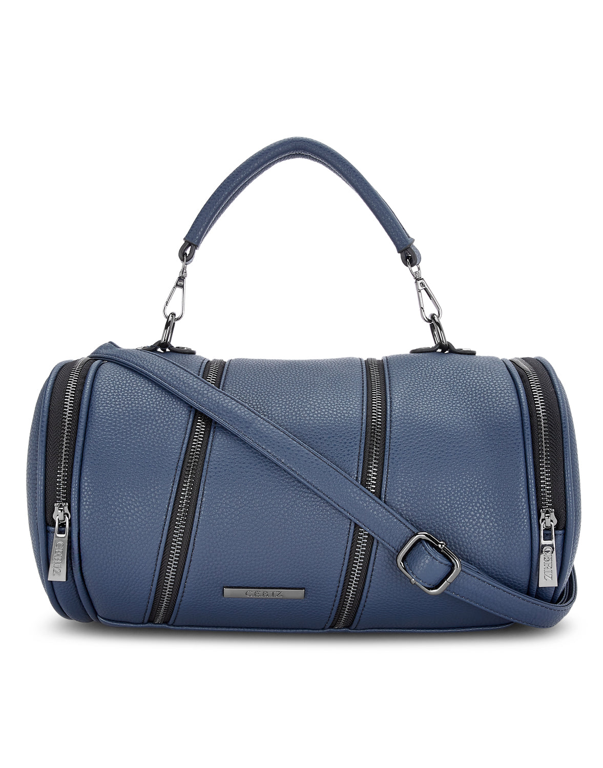 Louise Navy Duffle Bag