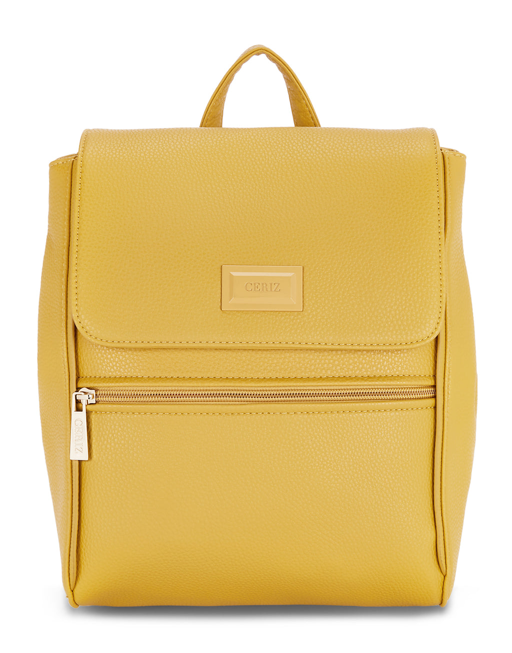 Clemence Yellow Backpack
