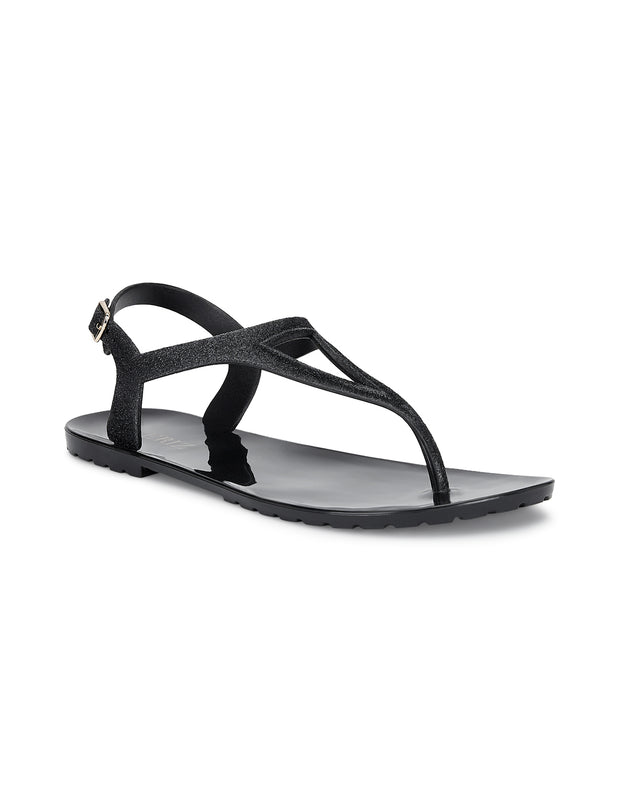 Arabella Suave Black Sandals