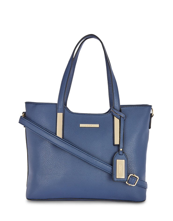 Chane Navy Handbag