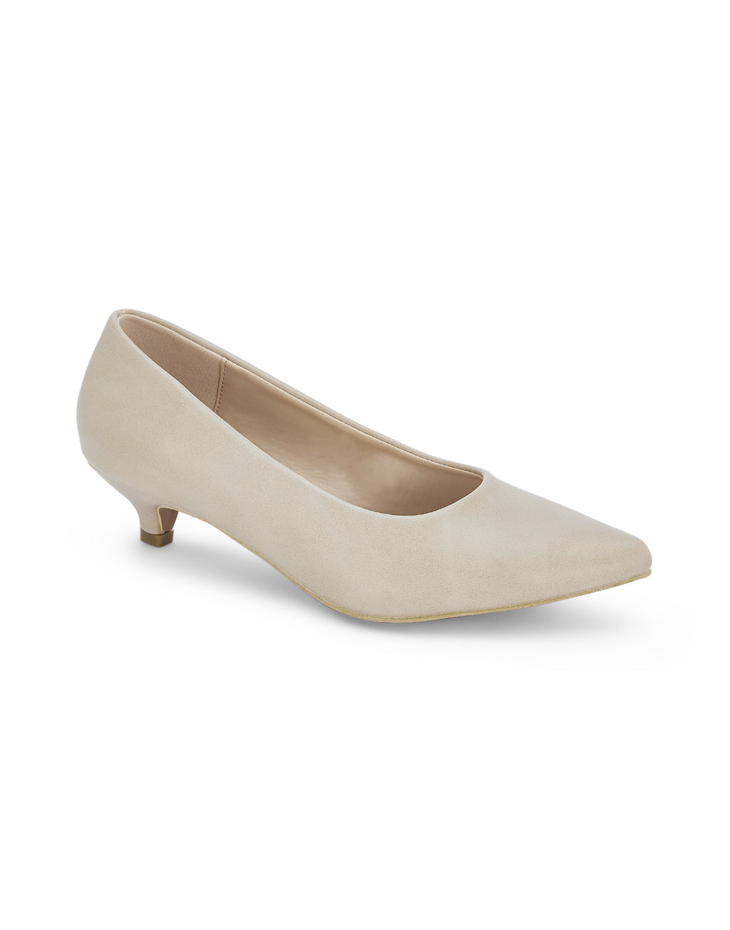 Laella Beige Pumps