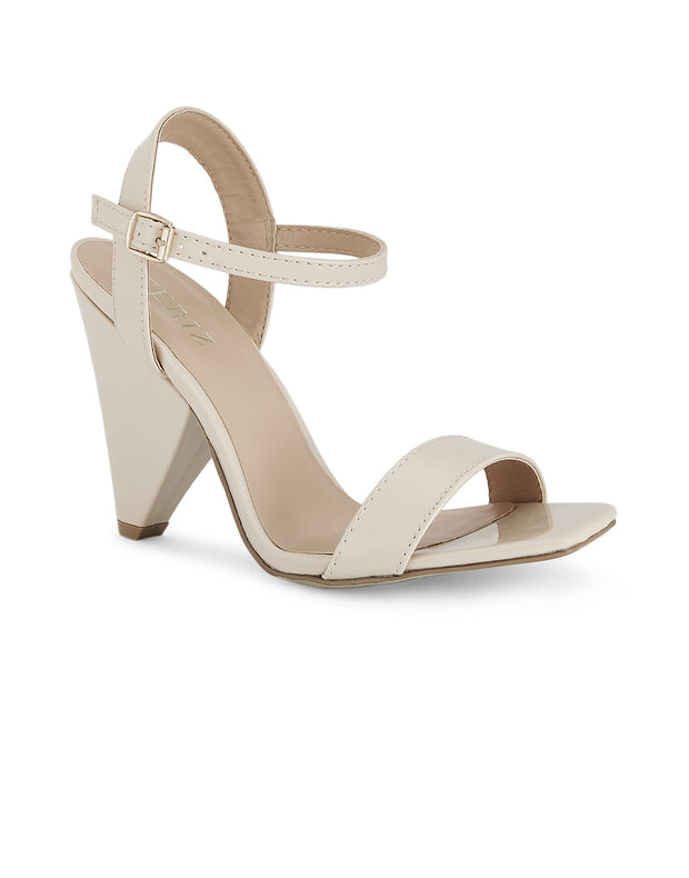 Dominique Nude Sandals