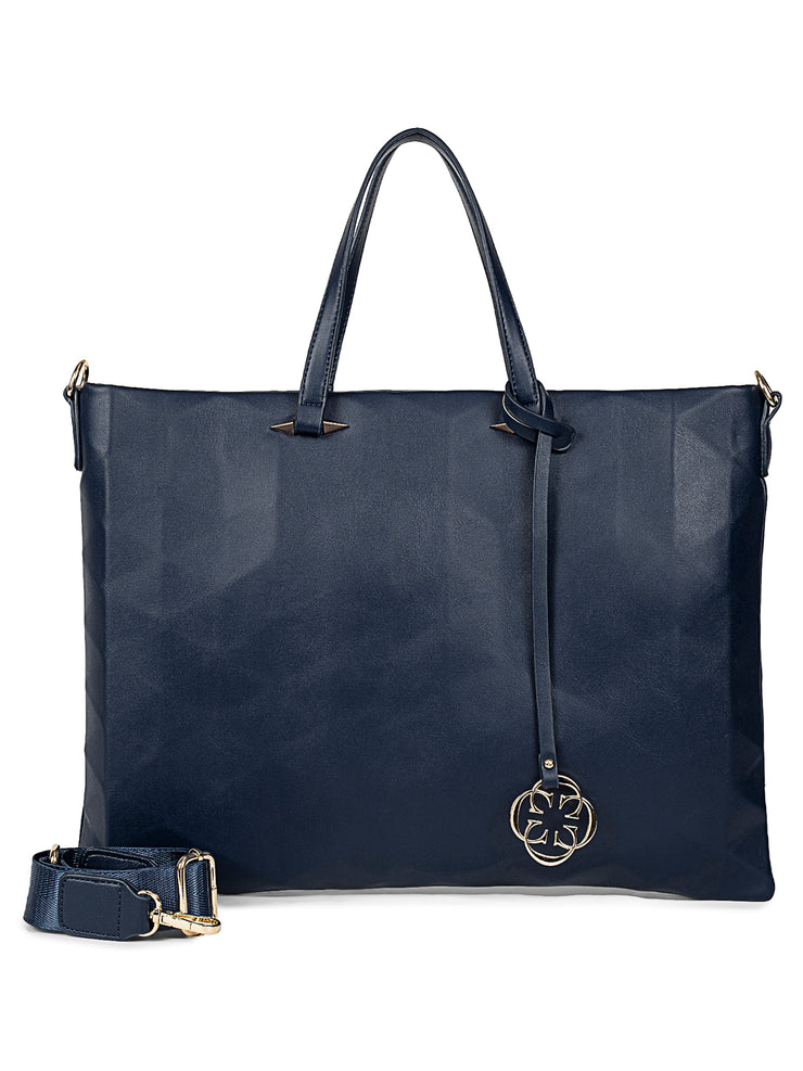 Niquole Navy Laptop Bag