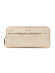 Cielle Sleek Beige Wallet