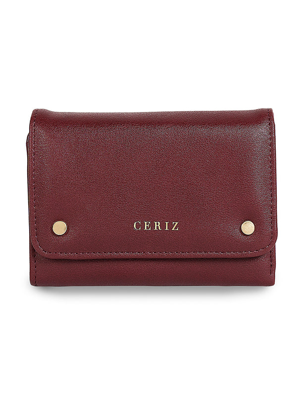 Monique Classic Burgundy Wallet