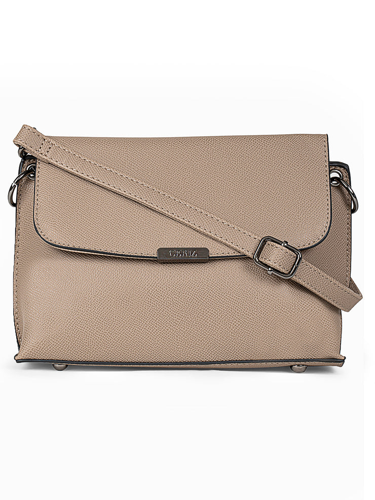 Colleen Taupe Sling Bag