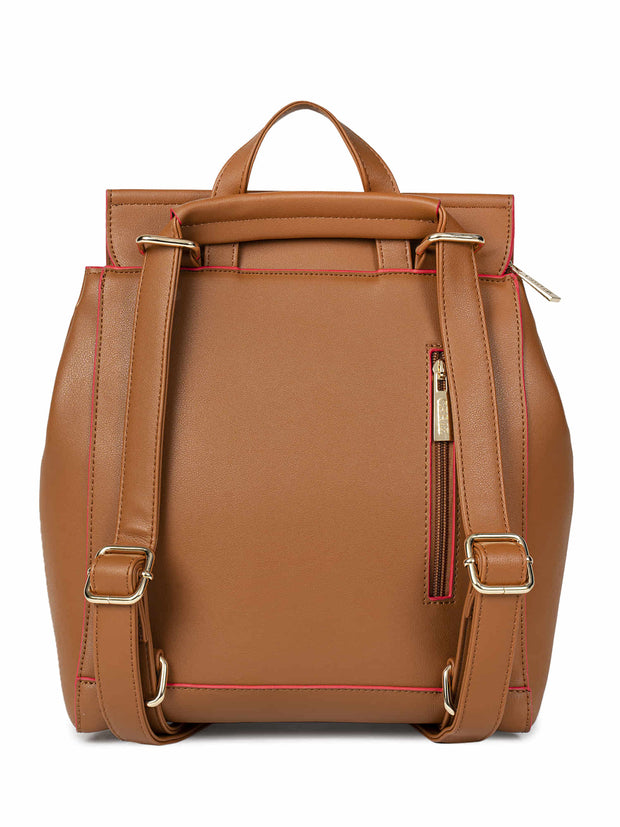 Angelique Medium Tan Backpack 3