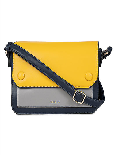 Isobel Medium Navy Sling Bag