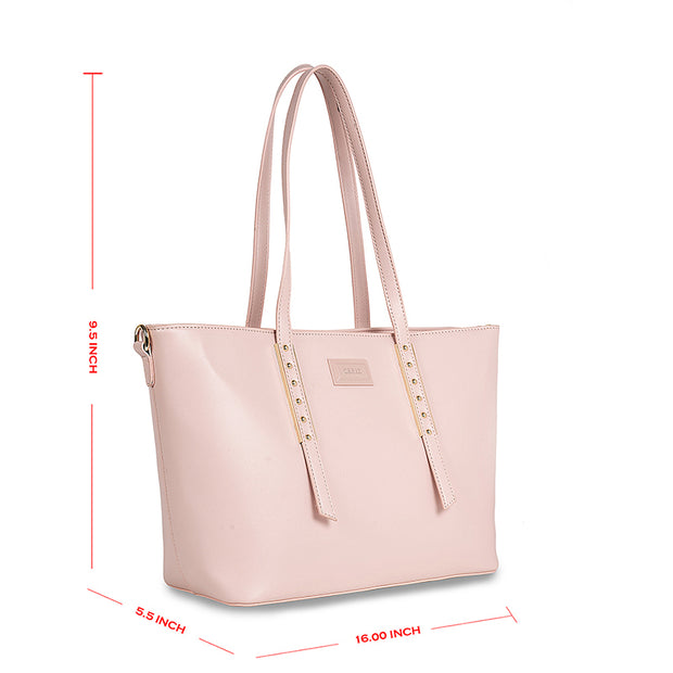 Adeline Powder Pink Tote 5