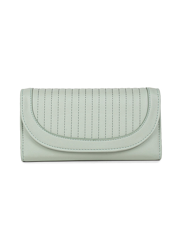 Cherie Mint Snap-on Wallet