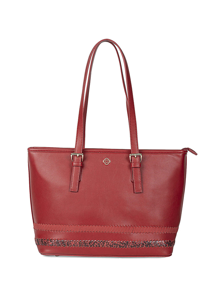 Gardenia Adventurous Red Tote 1