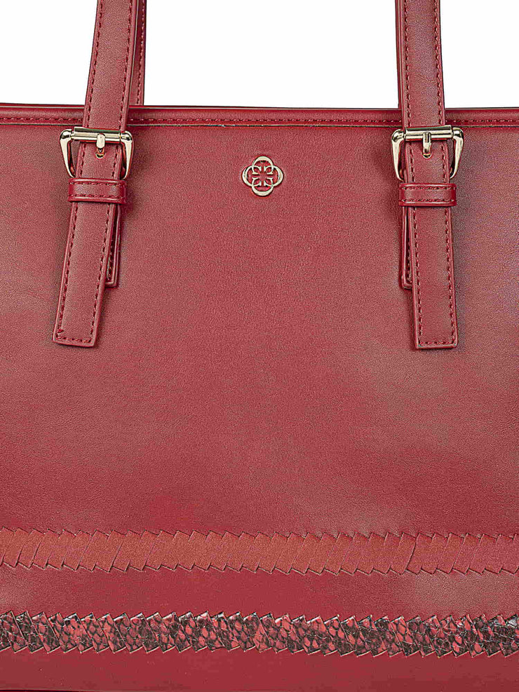 Gardenia Adventurous Red Tote 5