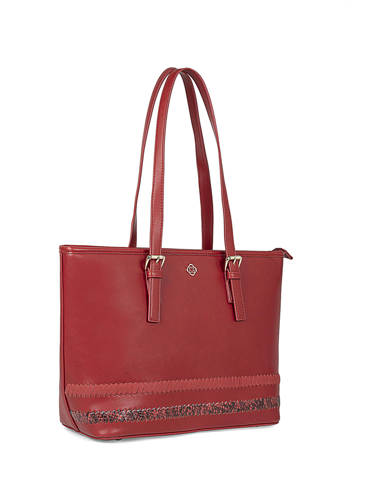 Gardenia Adventurous Red Tote 2
