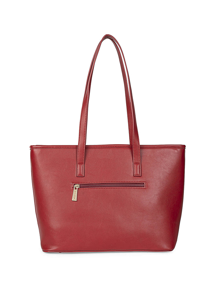 Gardenia Adventurous Red Tote 3