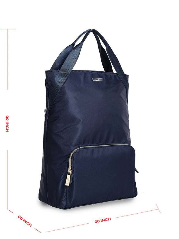 Adette Tubular Navy Backpack 1