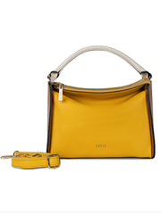 Genevieve Yellow Handbag