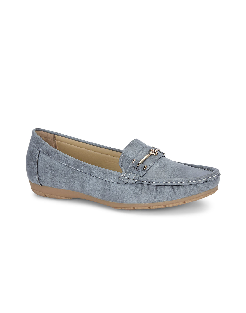 Charlotte Refined Grey Loafers