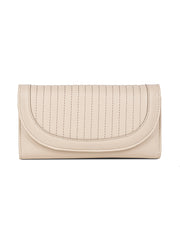 Cherie Taupe Snap-on Wallet
