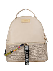 Bernice Sporty Beige Backpack