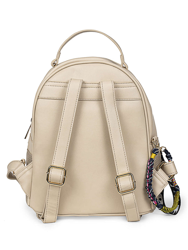 Bernice Sporty Beige Backpack 2