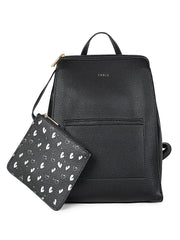Elettra Casual Black Backpack