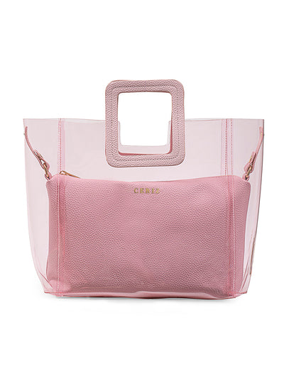 Jacqueline Affectionate Light Pink Handbag