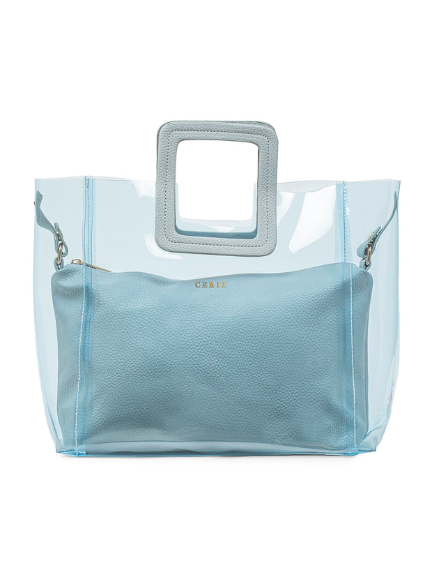 Jacqueline Affectionate Powder Blue Handbag