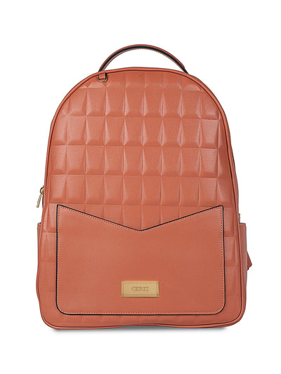 Gwendolyn Large Cantaloupe Backpack