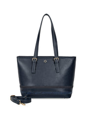 Gardenia Adventurous Navy Tote