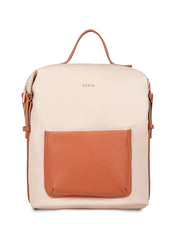Brielle Trendy Beige Backpack
