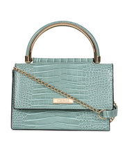Elaina Stylish Mint Clutch