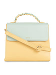 Corisande Spontaneous Light Yellow Handbag