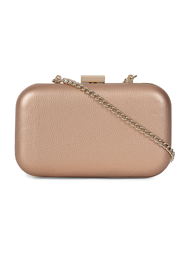 Deor Fancy Gold Clutch