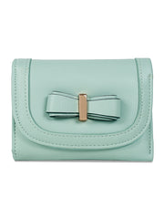 Fifi Mint Bow Wallet