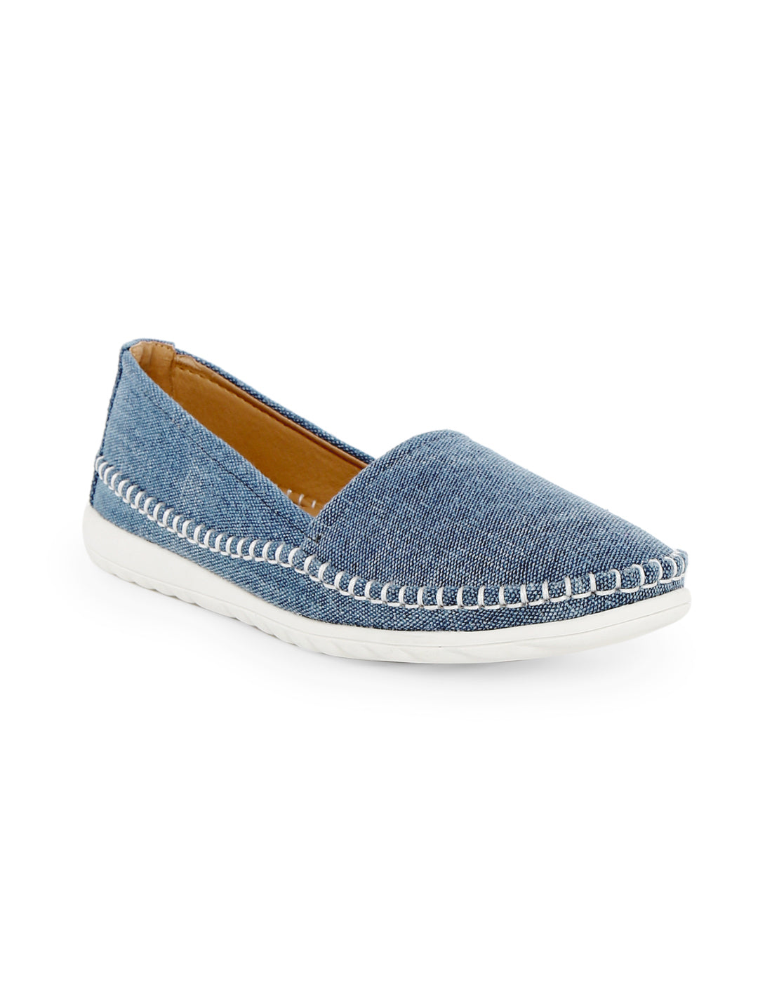 Hydria Blue Canvas Sneakers