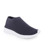 Nuriaa Grey Slip on Sneakers
