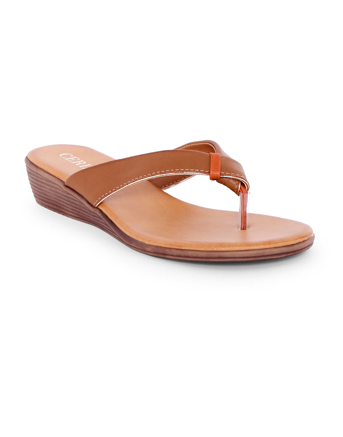 Dakinia Tan Knotted Sandals