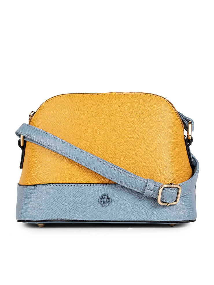 Dannielynn Yellow Sling Bag