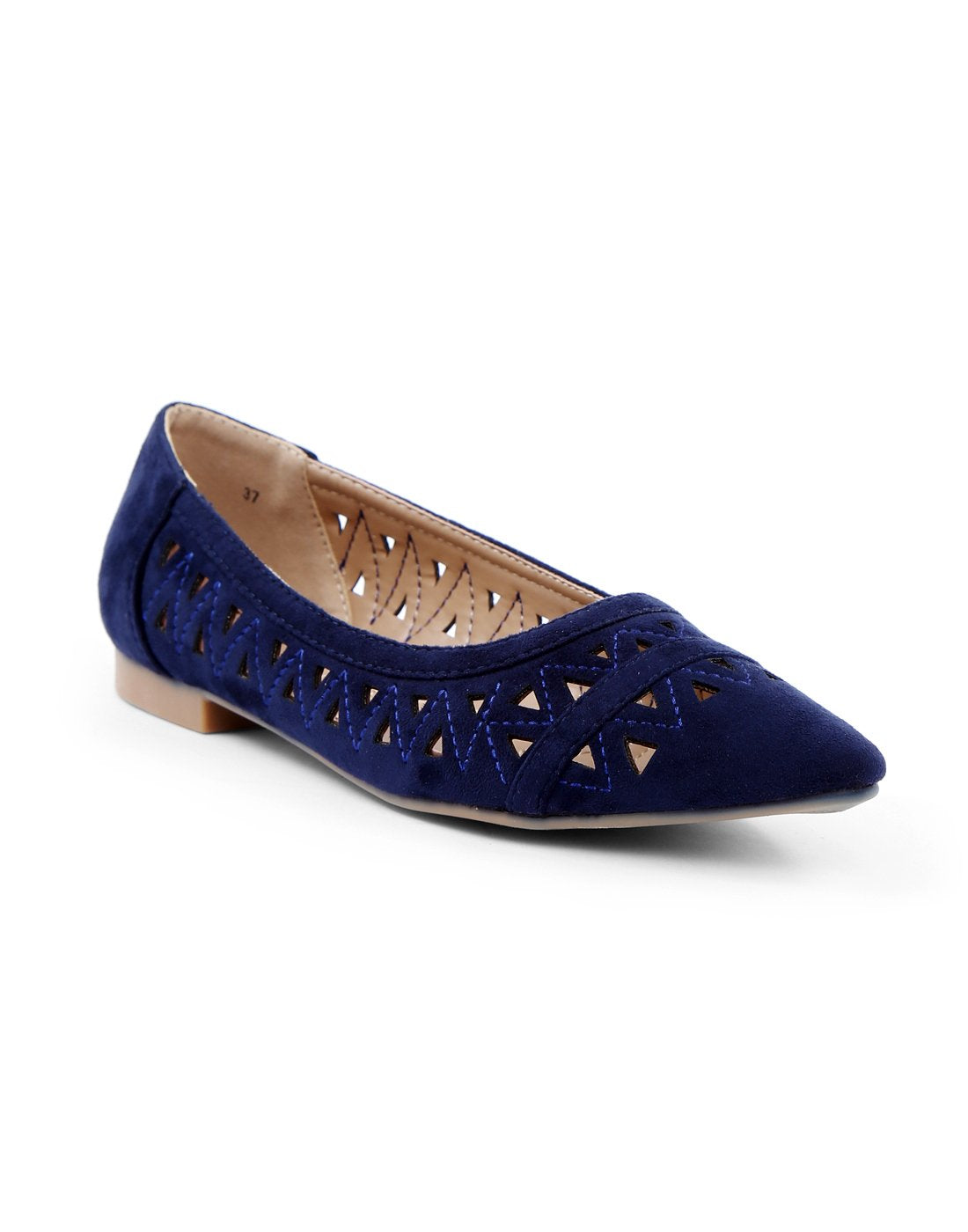 Navy Blue Ballerinas