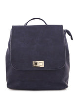 Surrey Gold Tone Twist Backpack