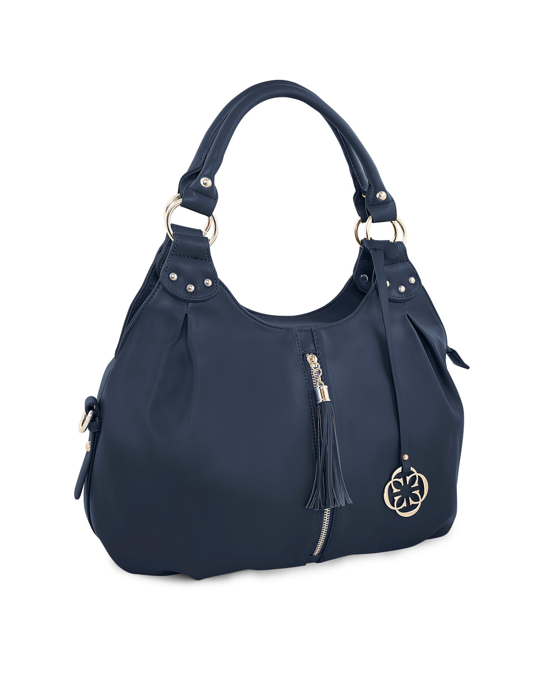 Lucia Navy Hobo Bag