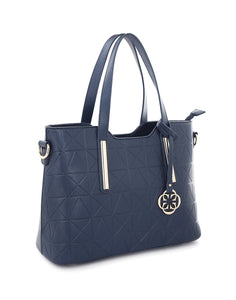 Ophelia Structured Navy Handbag
