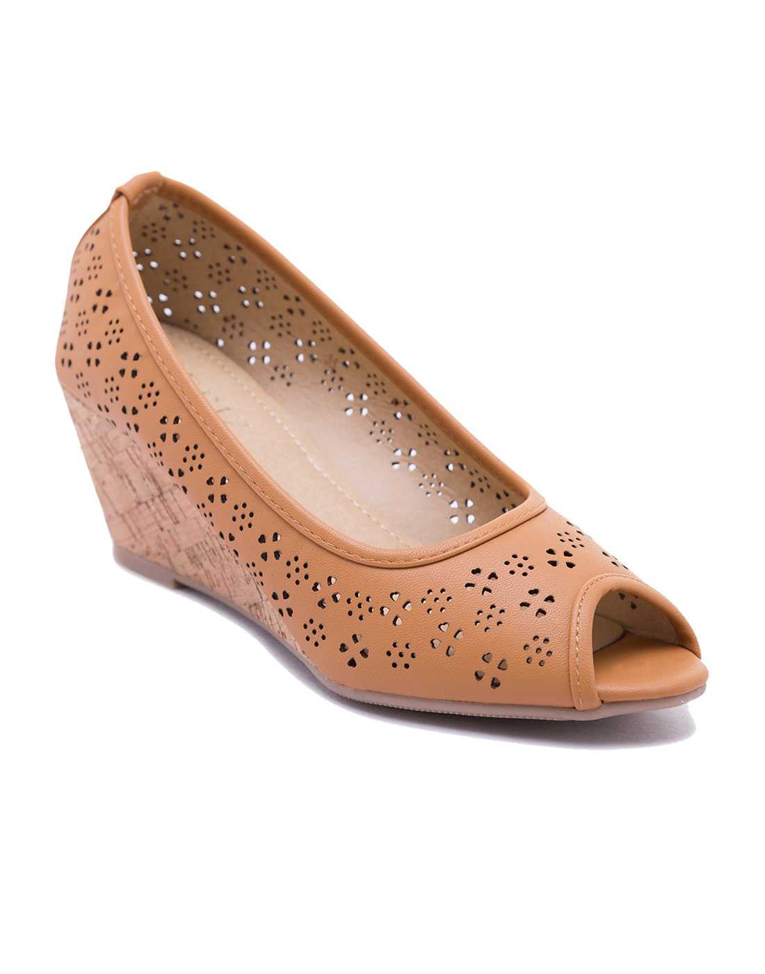 Mamie Perforated Peeptoes