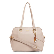 Mathilde Beige Shoulder Bag