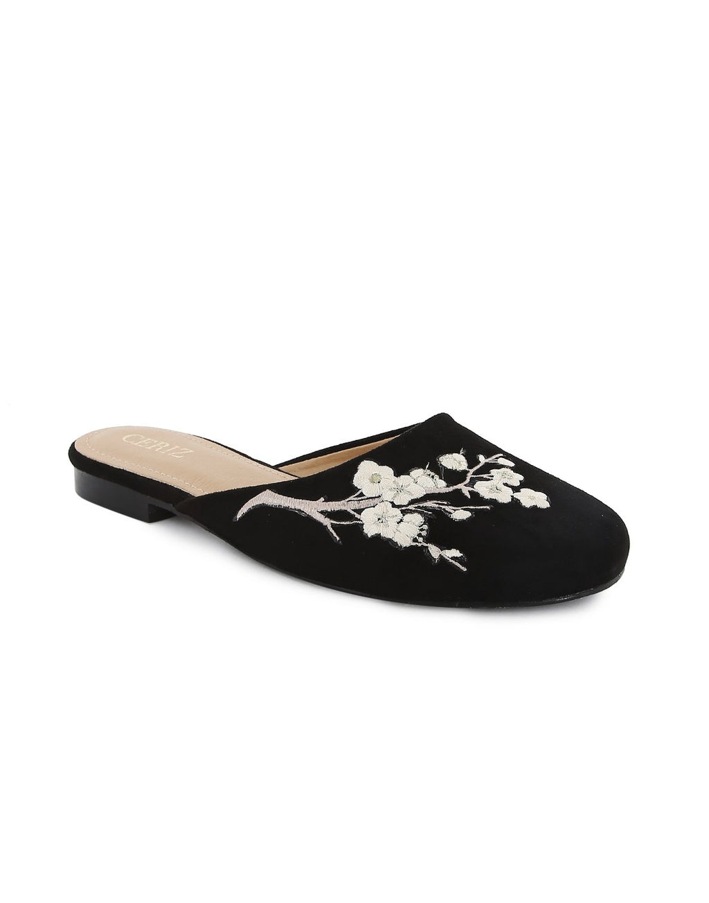 Felicia Floral Round Toe Loafer