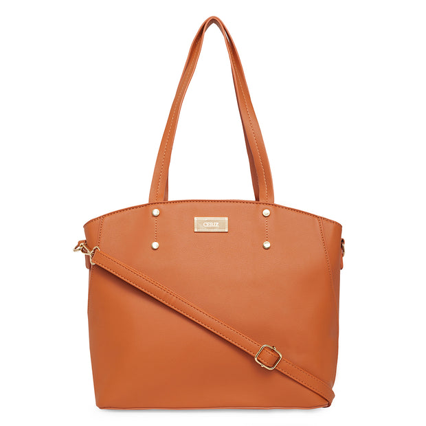 Jeanne Rust Tote