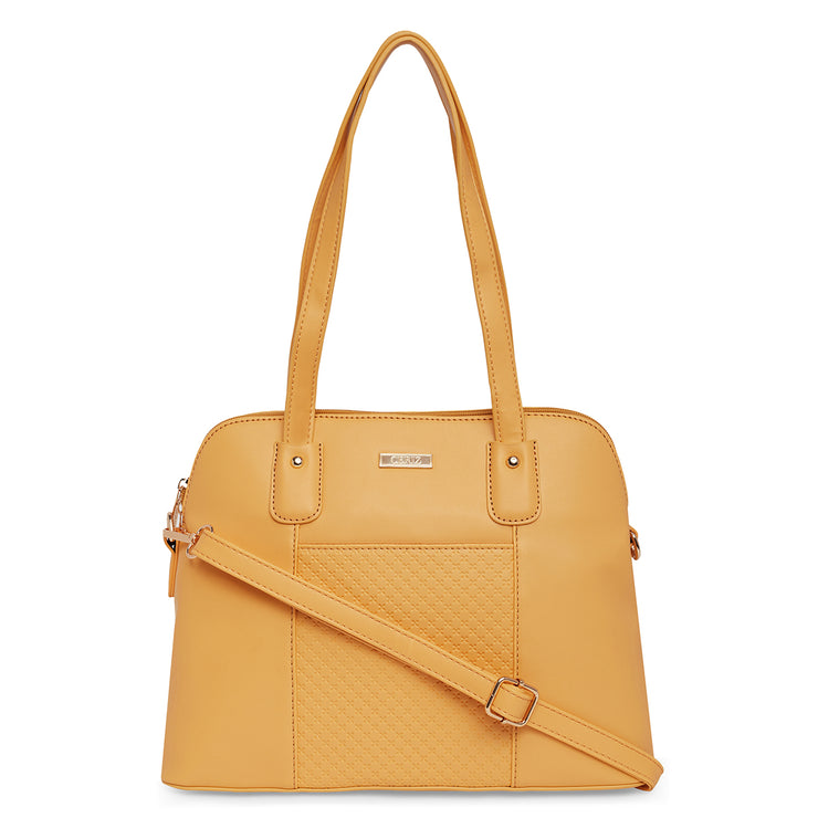 Giverny Yellow Shoulder Bag