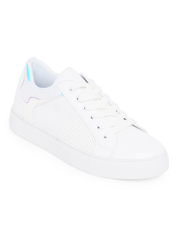 Georgine White Sneakers