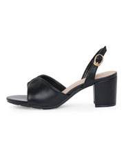 Alaina Black Sandals