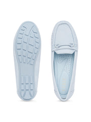 Sinclair Powder Blue Loafers